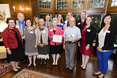 Dr. Seroogy and colleagues receive a UW-Madison Community-University Partnership Award