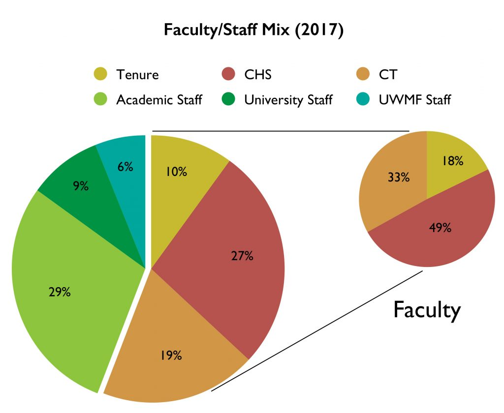 Faculty Staff Mix 2017