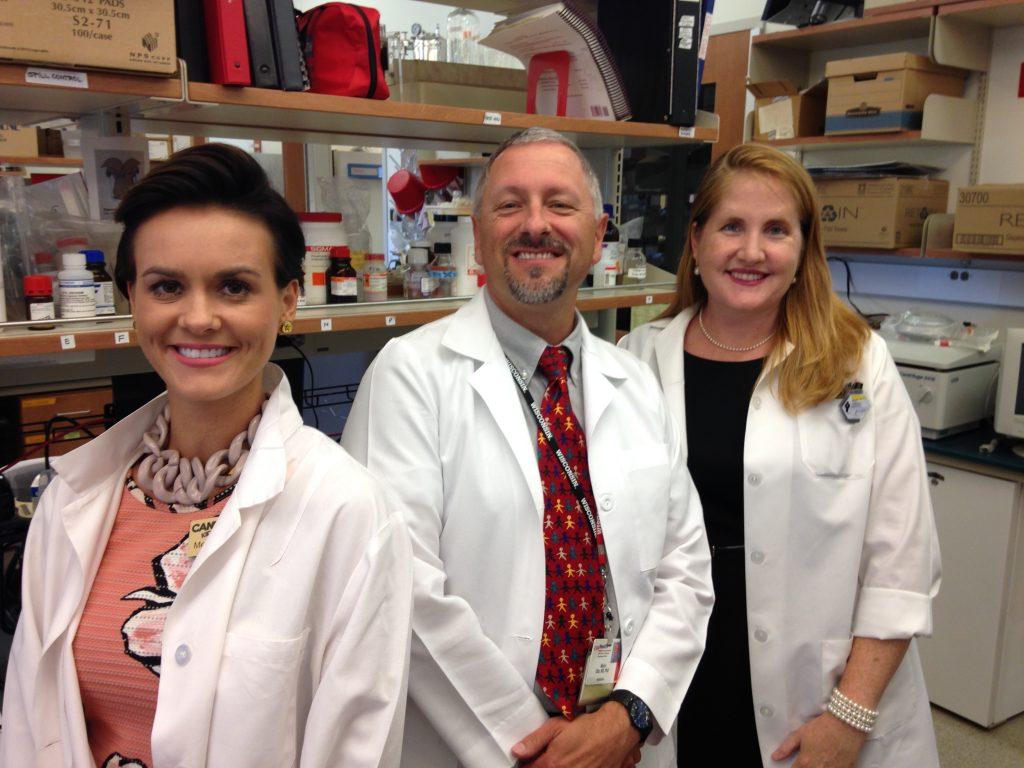 Melissa Wiggins (left), Dr. Mario Otto (center), and Ashley VanDerMark (right)