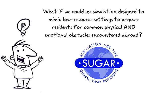 A still image from the SUGAR introductory video, available at sugarprep.org